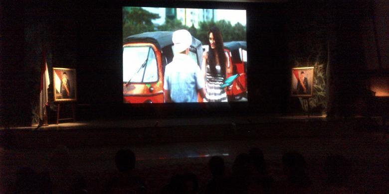 Film Bajaj Bajuri the Movie ditayangkan di bioskop Balai Kota, Minggu (20/9/2015).