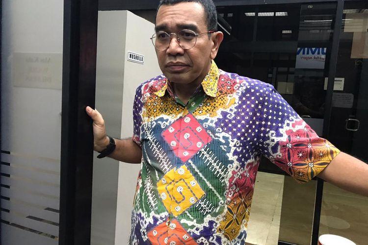 Staf Khusus Menteri BUMN Arya Sinulingga di Kementerian BUMN, Jakarta, Selasa (11/2/2020).