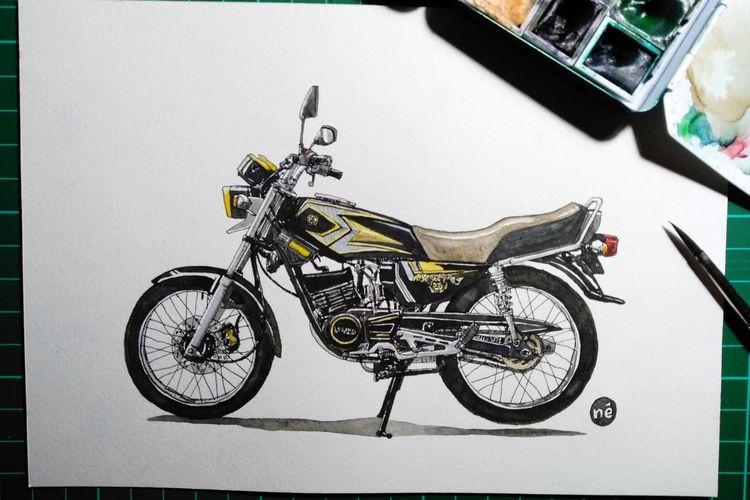 Rx King 20th Anniversary Motor Legendaris Di Indonesia Halaman