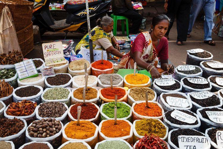 Rempah-rempah yang digunakan masyarakat India untuk mengobati berbagai penyakit.
