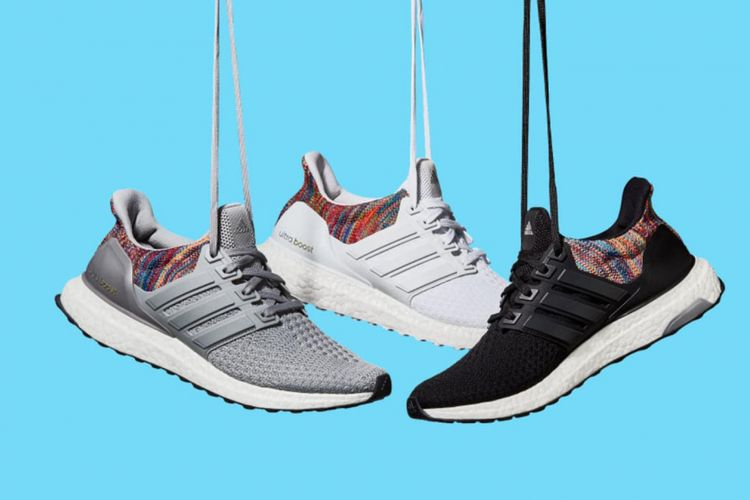 Ilustrasi sneakers Adidas
