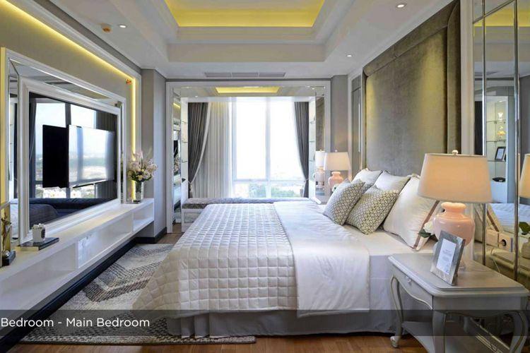 Tipe 1 kamar tidur luxury unit.