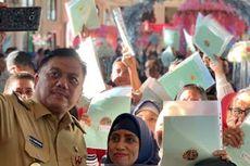 Dukung Program Pemerintah, Gubernur Sulut Serahkan Ribuan Sertifikat Tanah Warga