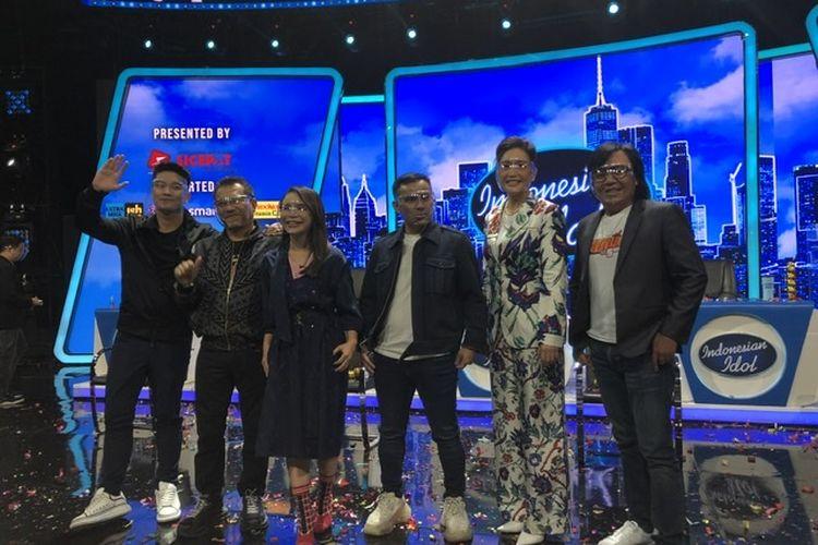 Para juri dan host baru, Boy William saat ditemui di Studio 10 RCTI Kebon Jeruk, Jakarta Barat, Kamis (12/11/2020).