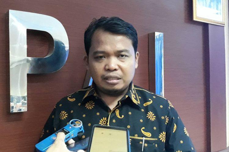 Ketua KPAI Susanto di kantor KPAI, Jakarta Pusat, Rabu (13/3/2019).