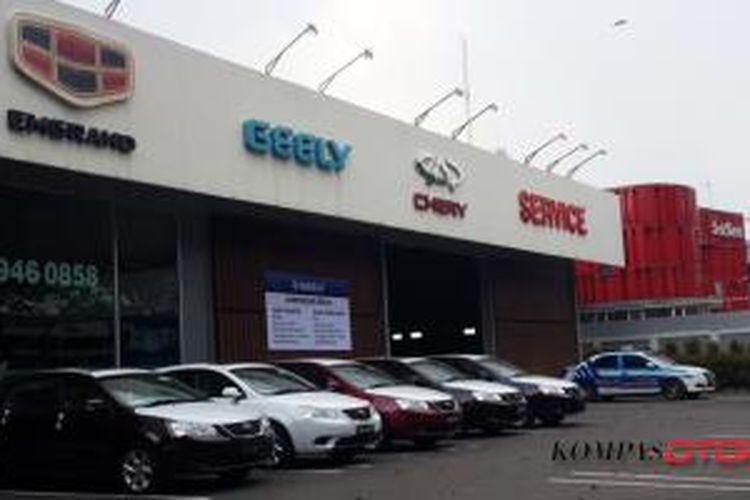Ragam mobil china yang dijual di Indonesia.