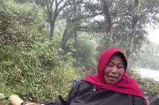 Viral, Video Mbok Yem Ditandu Naik Ke Puncak Gunung Lawu