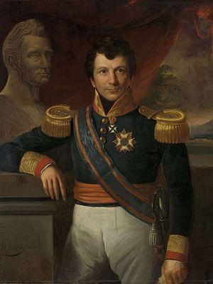 Potret Gubernur Jendral Hindia Belanda Johannes Graaf van den Bosch (1780-1844) dilukis oleh Raden Saleh pada 1811 ?1880.