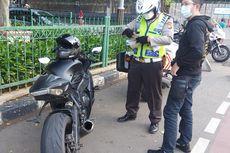 Polisi Razia Knalpot di Bulan Puasa, Puluhan Sepeda Motor Dijaring