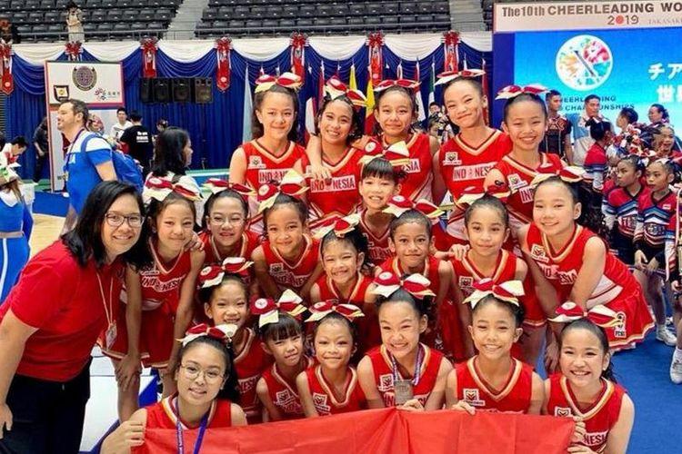 Timnas Cheerleading Indonesia kali ini berasal dari Kejuaraan Nasional Cheerleading 2019 pada 28 April 2019 di Surabaya. Tim juara satu yang dikirim adalah BABY-G dari SD Santo Yakobus, Jakarta.