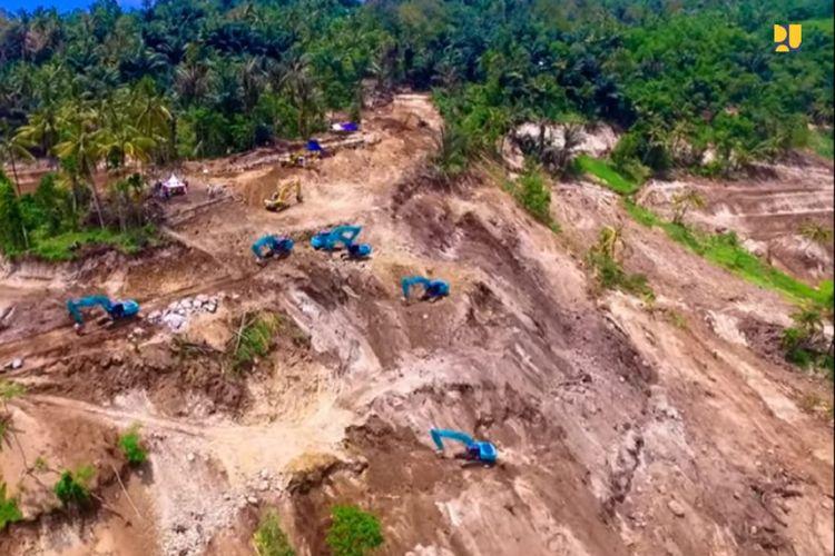 Dukung Ketahanan Pangan,  Bendungan Meninting Tambah Pasokan Air Irigasi di Pulau Lombok