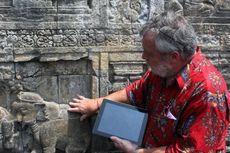 Tim Ahli Jerman Teliti Kerusakan Batu Relief Candi Borobudur