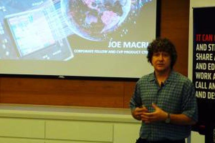 Corporate Vice President and Product CTO of AMD Global Business Unit Joe Macri