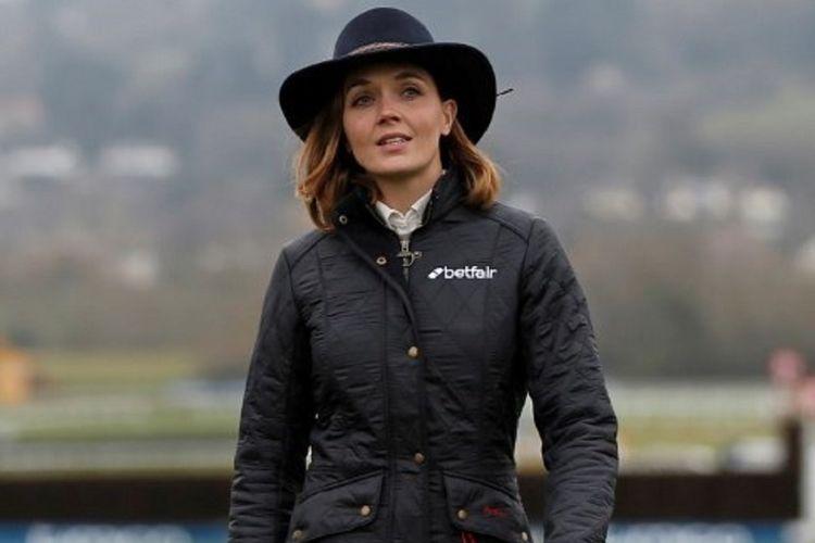 Mantan atlet balap sepeda Inggris, Victoria Pendleton, yang pernah meraih medali emas di Olimpiade Beijing dan London.