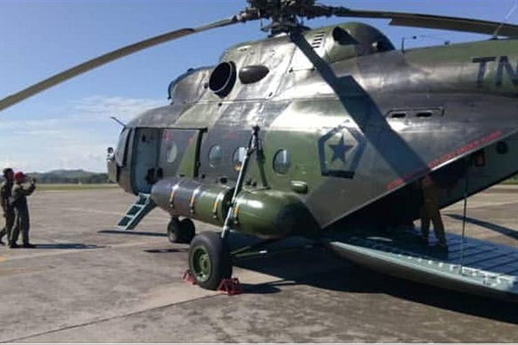 Helikopter MI-17 milik TNI AD