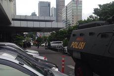 Pasca-Bom di Sarinah, Polisi Sterilkan Jalan MH Thamrin sampai Gedung Sarinah