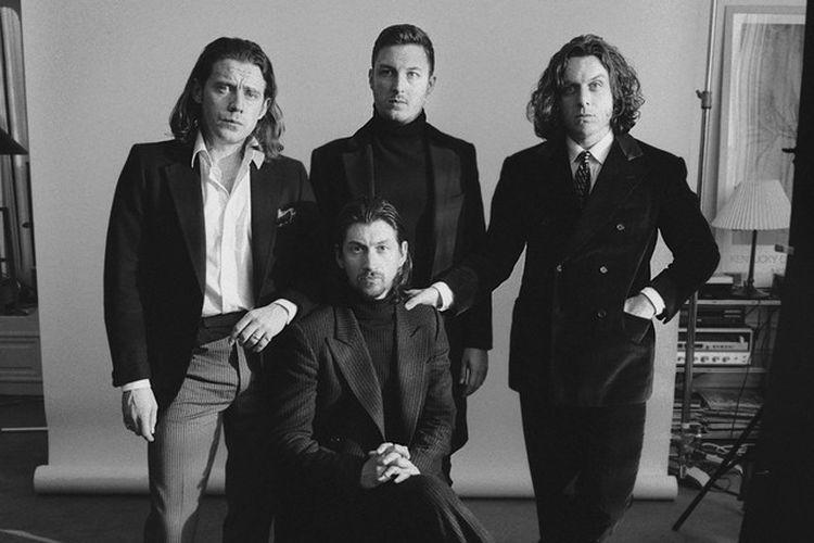 Grup musik asal Inggris, Arctic Monkeys, dalam Spotify.
