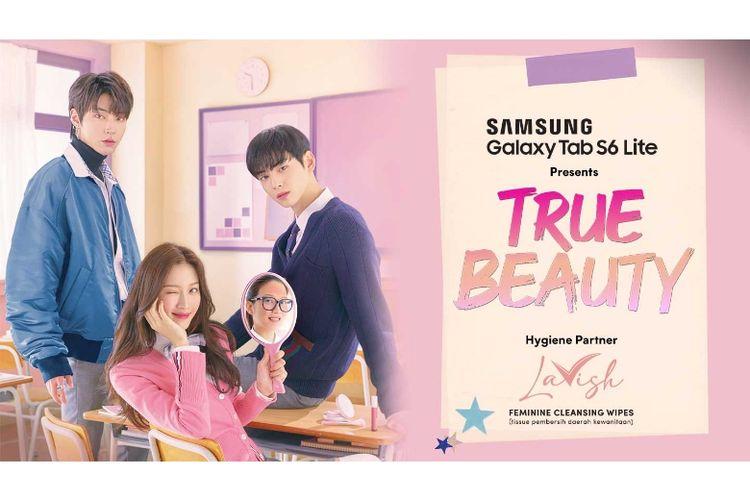 Moon Ga-young memerankan Lim Ju-kyung, salah satu karakter utama di drama True Beauty