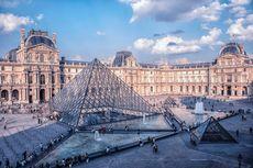 Gara-gara Covid-19, Jumlah Kunjungan Museum Louvre Perancis Anjlok