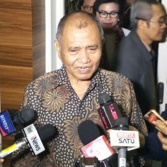 Ketua Komisi Pemberantasan Korupsi (KPK) Agus Rahardjo saat ditemui di Kompleks Parlemen, Senayan, Jakarta, Senin (23/7/2018).