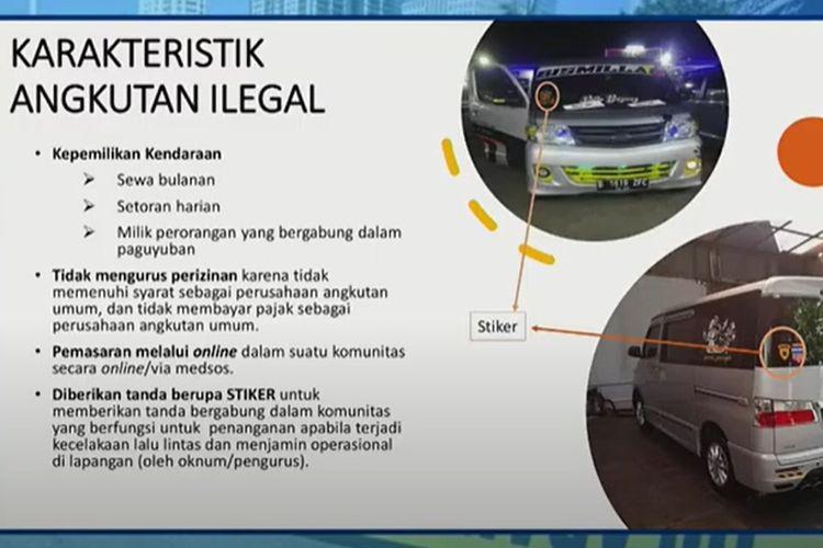 Angkutan umum ilegal