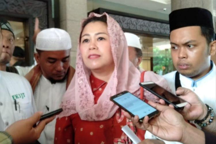 Yenni Wahid Di Surabaya, Minggu (7/4/2019)