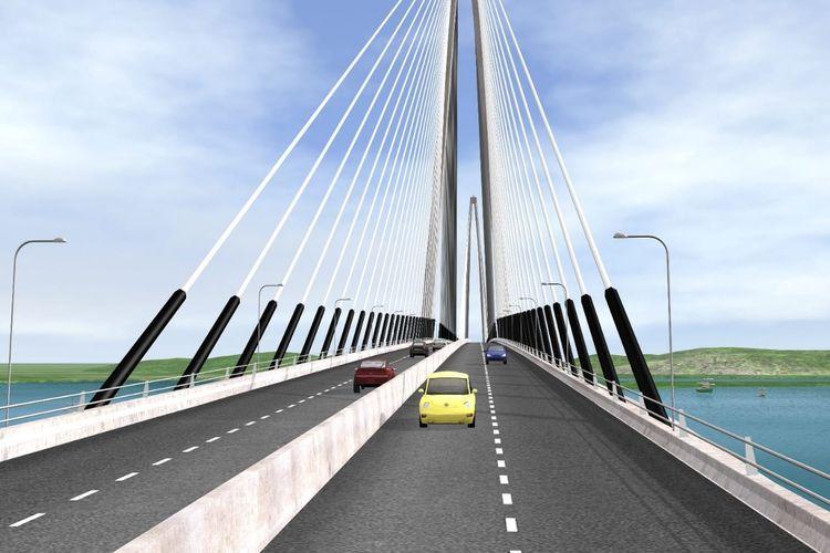 Jembatan Batam-Bintan.