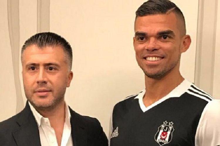 Pepe resmi gabung ke klub Turki, Besiktas, Selasa (4/7/2017).