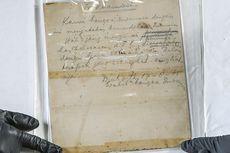 Istana Kembalikan Naskah Asli Teks Proklamasi ke ANRI