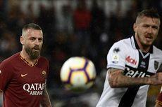 AS Roma Bantah Berita soal Friksi De Rossi dengan Totti