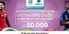 Kerja Sama dengan Mola, IndiHome Hadirkan Live Streaming Pertandingan EURO 2020
