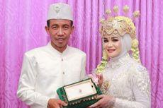 Fakta Foto Pengantin Pria Disebut Mirip Jokowi, Istri Kaget dan Tak Ada Rekayasa