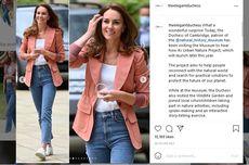 Kate Middleton Tampil Cantik dengan Blazer