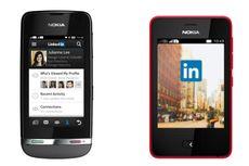 Aplikasi LinkedIn Tersedia di Nokia Asha