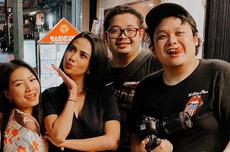 Tak Menyangka Cecep Reza Meninggal, Vanessa Angel: Semalam Kita Ketawa Sambil Makan Enak