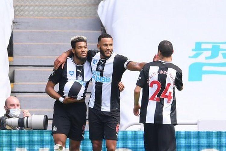Laga Newcastle vs Sheffield United dalam lanjutan pekan ke-30 Liga Inggris, Minggu (21/6/2020) malam WIB.