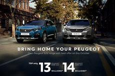 Promo Oktober, DP Mobil Peugeot Mulai Rp 13 Jutaan