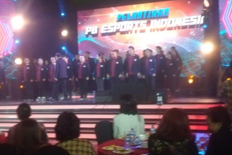 Pengurus Besar (PB) Esports Indonesia resmi dilantik.