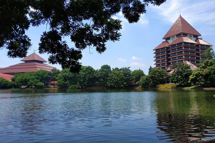 Danau Kenanga Universitas Indonesia, Depok, Jawa Barat.