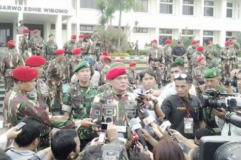 Jenderal Budiman Terima Brevet Kehormatan dari Kopassus