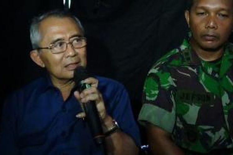 Menteri PU Djoko Kirmanto dan Komandan Kodim 0712 Tegal, Letkol Inf Jefson Marisano