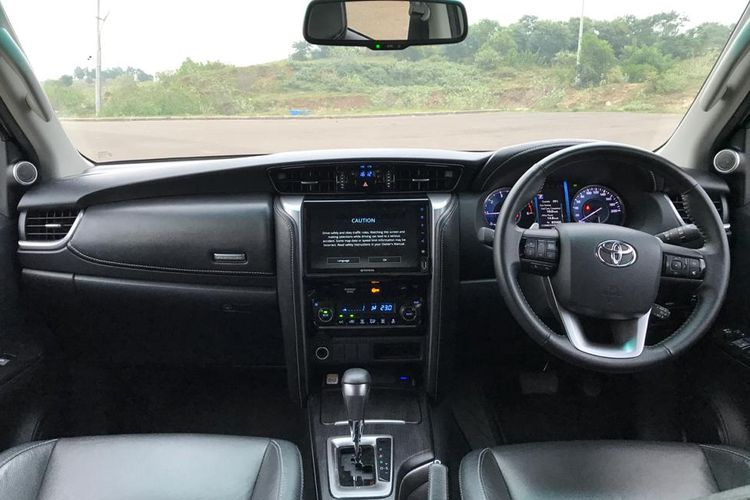 Test Drive Toyota Fortuner