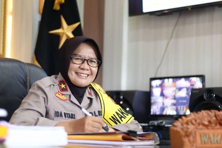 Wakapolda Kalimantan Tengah Brigjen (Pol) Ida Oetari Poernamasasi