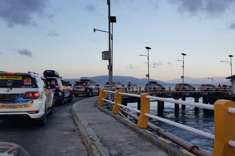 Touring komunitas Fortuner jelajah tiga pulau 2018.