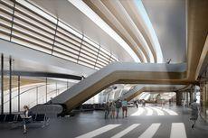 Zaha Hadid Rancang Terminal Multimoda Ülemiste Estonia