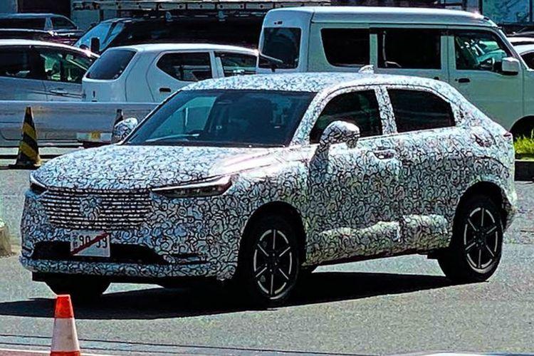 Spyshot Honda HR-V generasi terbaru.