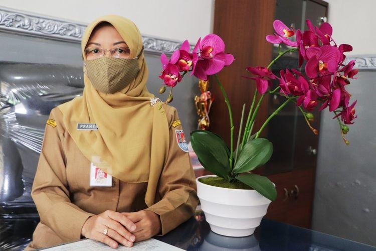 Kepala Dinas Kesehatan (Dinkes) Kabupaten Cilacap, Jawa Tengah, dr Pramesti Griana Dewi.