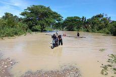 2 Kecamatan di Aceh Utara Dilanda Banjir, Warga Terpaksa Naik Rakit