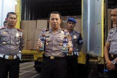 Hendak Kabur Saat Ditilang, Pengemudi Mobil Boks Tertangkap Bawa 9.600 Botol Miras