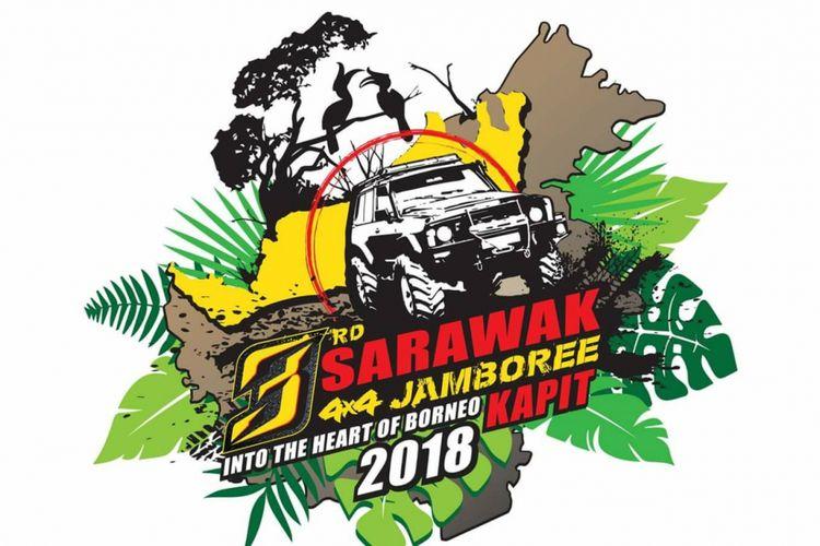 Event 3rd Sarawak 4x4 Jambore Into The Heart of Borneo yang akan dihelat di Kapit, Sarawak, Malaysia pada 13-16 September 2018.